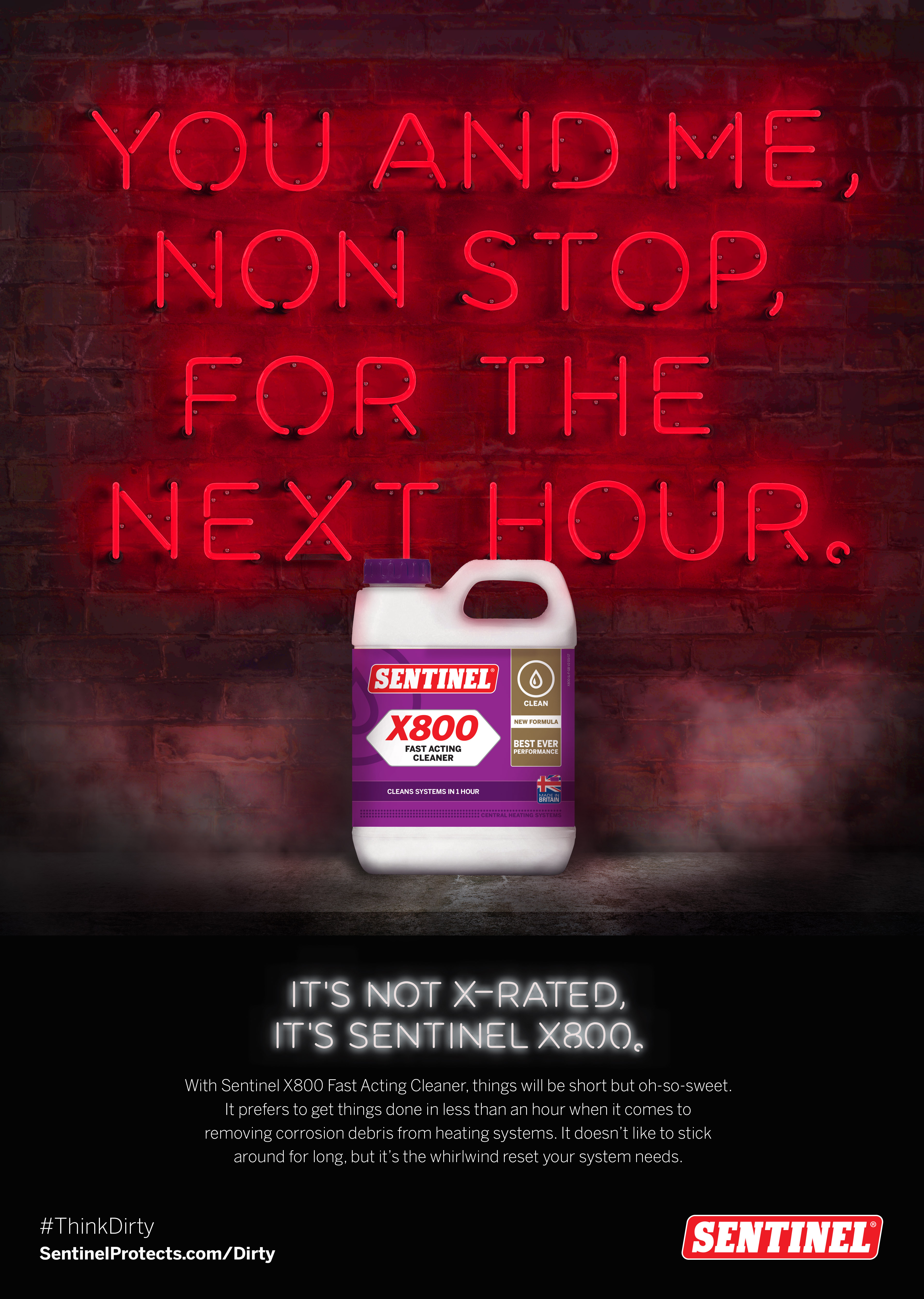 You and me, non stop example - Sentinel Dirty Campaign