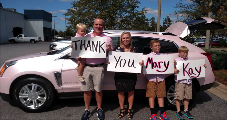"""Thank you Mary Kay"" - Family"