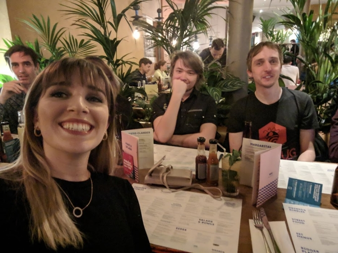 Access agency team meal and social: DrupalCamp 2019