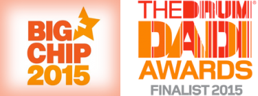 Big Chip Winner and DADI Awards Finalist 2015