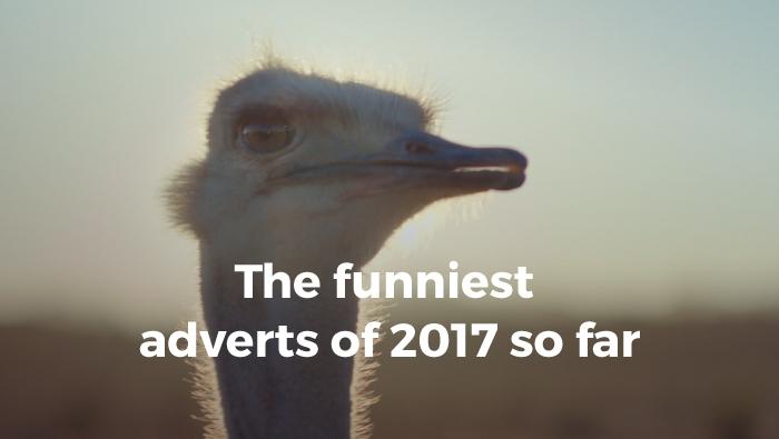 Funniest adverts of 2017 so far