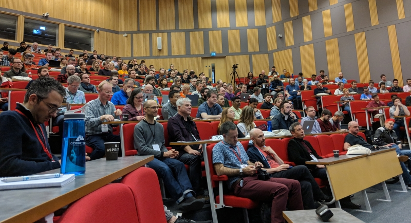 DrupalCamp London 2019 - Keynote crowd