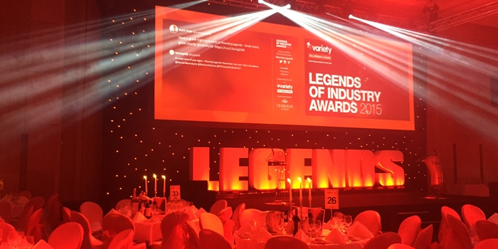 Event Stream Live at the Variety Legends of Industry Awards