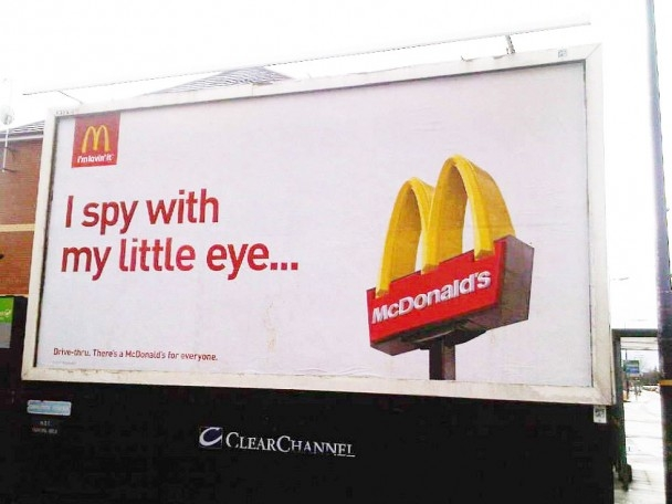 Outdoor Advertising – Simple is Beautiful – I'm Loving It | Access ...