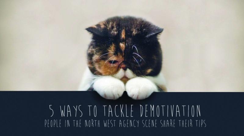 Demotivated cat - 5 ways to tackle demotivation