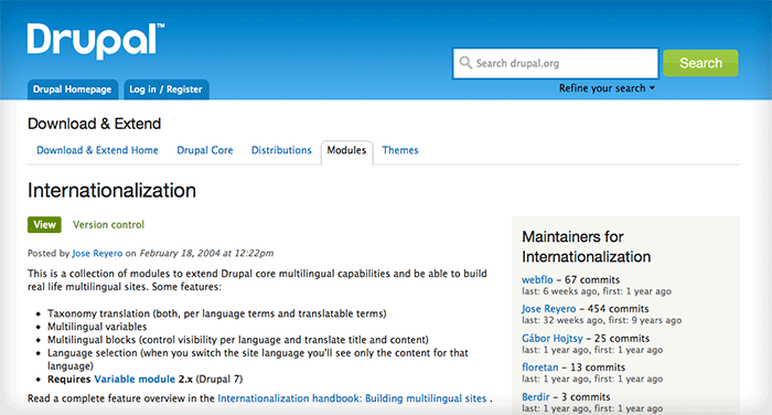internationalization examples