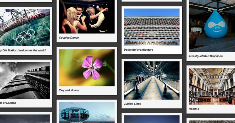 Access flickr masonry