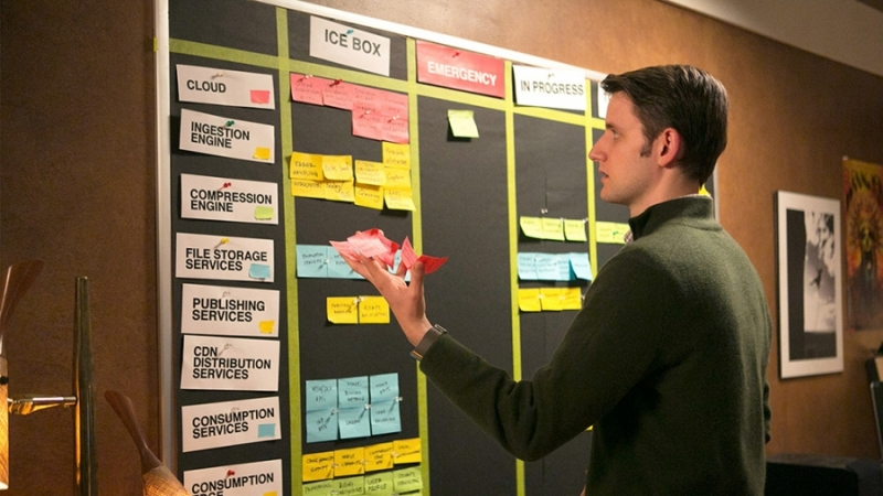 Silicone Valley Kanban board