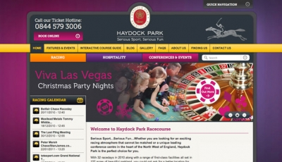 Haydock park website