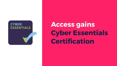 Access gains Cyber Essentials Certification