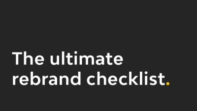 the ultimate rebrand checklist