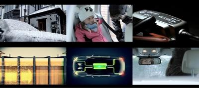 Screenshots of car video