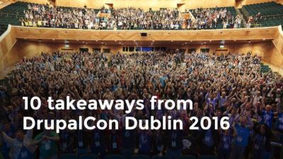 DrupalCon Dublin 2016