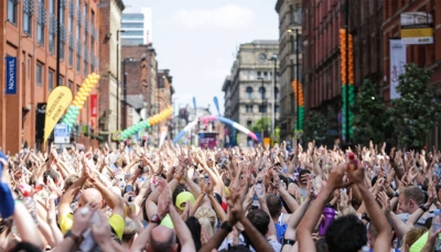 Taking on the Great Manchester Run in aid of 42nd Street
