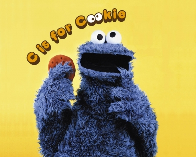 """Cookie monster """"C is for cookie"""""""
