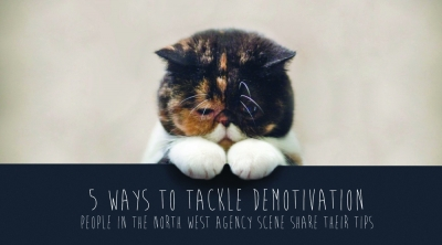 Demotivated cat - 5 ways to tackle demotivation