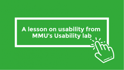 A lesson on usability from MMU's Usability lab