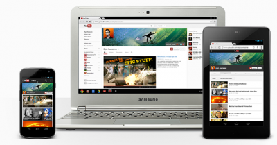 YouTube one channel on multiple devices