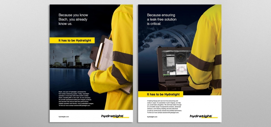 Hydratight repositioning campaign