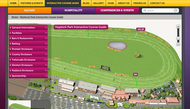 Haydock Park Website