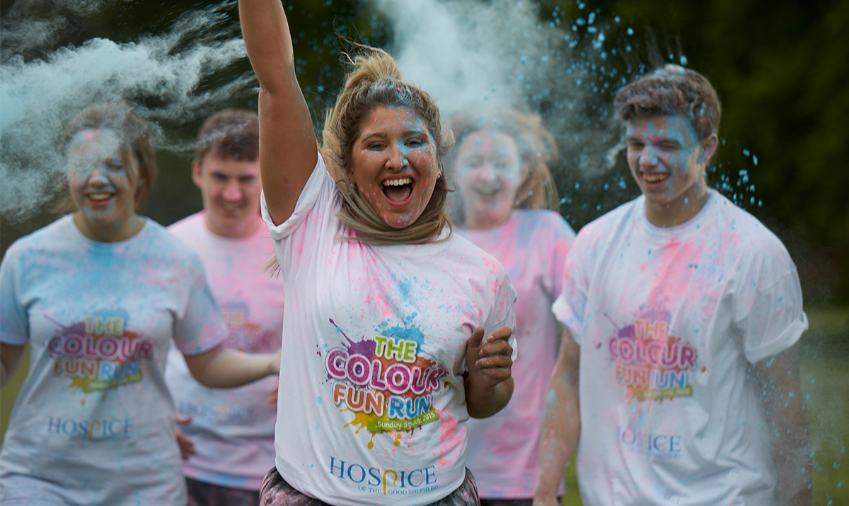 "Good Shepherd - ""The colour fun run"""