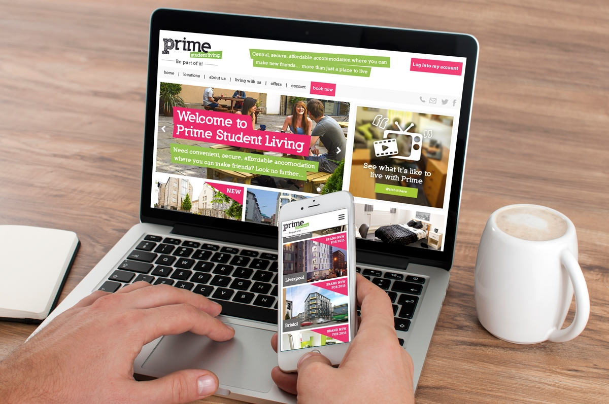 Prime Student Living website
