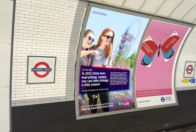 On this day: Destination Marketing Campaign for Queen Elizabeth Olympic Park