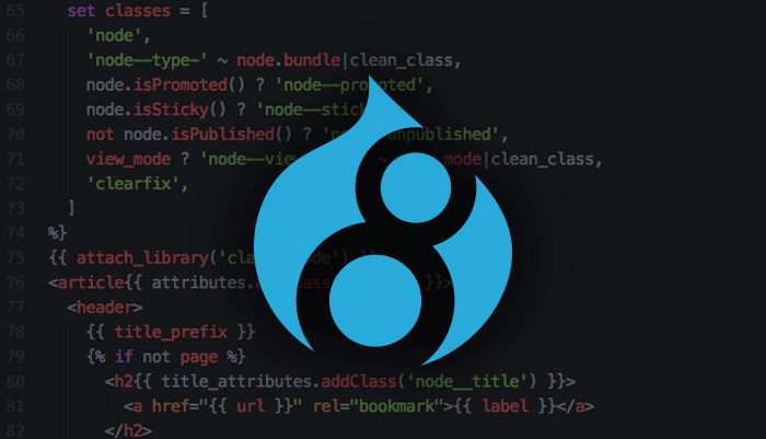 An intro to the Twig templating engine in Drupal 8 | Access